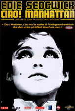 CIAO! MANHATTAN Movie POSTER French 27x40 Edie Sedgwick Isabel Jewell