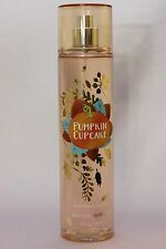 LOT 1 PUMPKIN CUPCAKE BATH & BODY WORKS BODY MIST FINE FRAGRANCE SPRAY 8 OZ