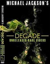 Michael Jackson Decade (unreleased & rare videos) 2 dvd box