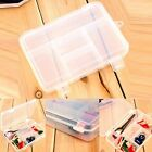5 Compartments Jewelry Bead Storage Plastic Box Case Container Craft Organizer