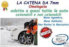 Catene da neve 7mm per Fiat  Panda 4x4 - Cross pneumatico 175/65R15 1756515