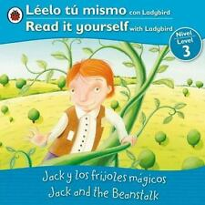 Jack and the Beanstalk Jack y los frijoles magicos: Bilingual Fairy Ta-ExLibrary