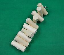 Untreated Pine hanging gnaw toy wood chew Chinchilla,Rabbit,Parrot