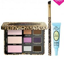 TOO FACED Cat Eyes Purrrfection Set Shadow Palette Brush Primer AUTHENTIC