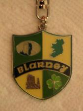 Ireland Keyring Blarney Shield Coat of Arms New Unused Irish Souvenir Free Ship