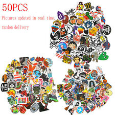 50PCS RANDOM Skate Snow Surf Board Sticker Decal Vinyl Laptop Guitar iPhone iPod