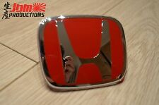 GENUINE HONDA TYPE R RED FRONT GRILLE BADGE FOR CIVIC EP3 EP2 FACELIFT 2004-2005