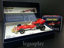 Slot SCX Scalextric Superslot Legends H3657A Lotus 72 Tony Trimmer