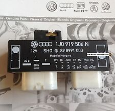 VW Golf MK4 R32 Radiator Fan Control Module Switch  Brand New Genuine VW Part