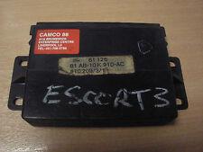 Ford Escort Mk3 ECU 81AB10K910AC 410209/3/1