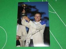 PGA Fantastic Bernhard Langer Signed Ryder Cup Trophy Photograph