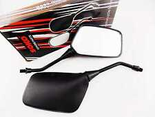 HONDA MVX250 83-88 BLACK RECTANGULAR SOKO REAR VIEW MIRRORS