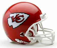 Kansas City Chiefs NFL Football Team Logo Riddell Mini Helmet