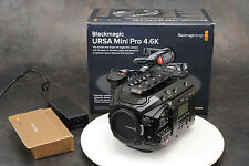 . Blackmagic Design URSA Mini Pro 4.6K EF Digital Cinema Camera Barely Used