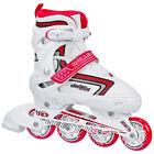 Roller Derby Cheetah Adjustable Inline Skates/Rollerblades Kids/Girls US3-6