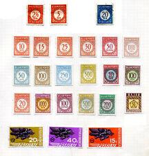 COLLEZIONE INDONESIA LOTTO 24 FRANCOBOLLI  Stamps -  Timbres FRANCOBOLLO