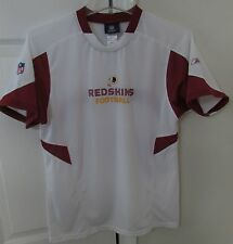 NFL Washington Redskins Youth Large White Shirt (14-16) by Reebok Onfield