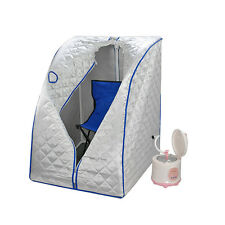 Home Portable Steam Sauna Tent Slimming Full Body Spa Therapy Detox Loss Weight