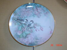 Franklin Mint Collectors Plate SONG OF THE CHERRY BLOSSOM
