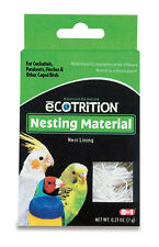 8IN1 NEST NESTING BOX MATERIAL BED BIRD GREAT FOR BREEDING FREE SHIP IN USA