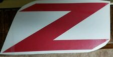 """Z"" Decal, Emblem, Sticker, Vinyl, CR-Z, 350-Z, 370-Z, HONDA CAR"