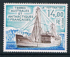 French Antarctic/TAAF 1992 Tottan Supply Ship  SG 301 MNH