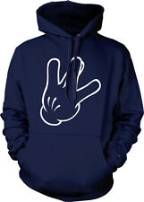 West Side Hand Outline Cali Rap Hip-Hop Music Swag Hoodie Pullover