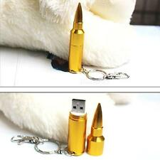 64GB Metal Bullet USB 2.0 Flash Pen drive Memory Stick Thumb Storage U Disk