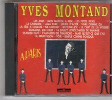 (ES716) Yves Montand, A Paris - 1993 CD