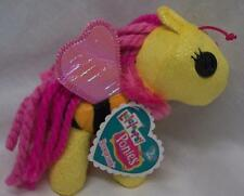 "Lalaloopsy Ponies HONEYCOMB YELLOW PONY 6"" Plush STUFFED DOLL Toy NEW"