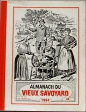 Almanach du vieux savoyard - 1994 - Bessans - La charrue Brabant - Champignons
