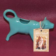 The Pioneer Woman Flea Market Teal Cow Creamer Ree Drummond *NEW*