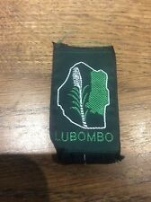 Vintage Cloth Patch Scout Badge Scouting Memorabilia Lubombo