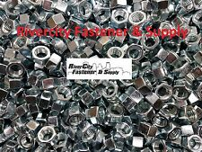 """(5) 1/2-13 Left Hand Thread Hex Nuts 1/2"""" x 13 With 3/4 Hex / Reverse Thread"""