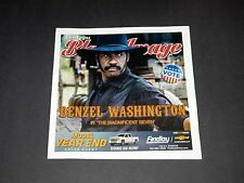 Las Vegas Black Image Magazine Denzel Washington Magnificent Seven Preview Issue