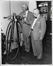Antique High Wheel Bicycle from Clay County MN Sam Batson Press Photo