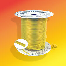 "200 Ft Tygon Clear Yellow Gas  Fuel Line ID 3/32"" OD 3/16"", Flexible,No Swelling"