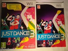 WII WII U JUST DANCE 3 NINTENDO WII  JUST DANCE 3 WII