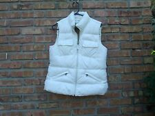 """Gorgeous TOMMY HILFIGER Down Insulated Puffer Vest """" Winter White"""" LARGE in EUC"""
