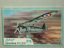 Azur 1/72 Scale French Dewoitine 371/372