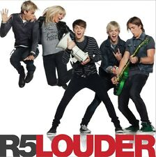 Louder + Bonus Track - R5 CD Sealed ! New ! 2014