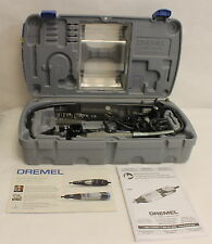 Dremel High Performance Rotary Tool Kit Model 4000 in case with accessories