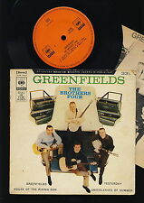 The Brothers Four - Greenfields - EP - House of the Rising Sun - Yesterday JAPAN