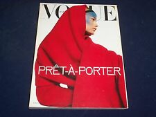 1998 SEPT VOGUE ITALIA MAGAZINE - CAROLYN MURPHY- SPECIAL FASHION ISSUE - O 5372