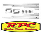 POLISHED ALLOY ALUMINIUM LEAD HOLDERS SEPERATORS FORD HOLDEN CHEV V8 RPC R6038