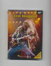 TED NUGENT - GUITAR LESSON - INSTRUCTION DVD *NEW*