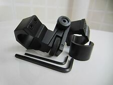 25.4mm & 30mm Metal Adjustable Scope Mount Tactical Flashlight Torch Mount Rings