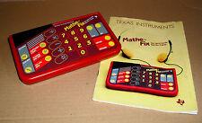 selten: Texas Instruments TI Mathe-Fix - sprechender Taschenrechner
