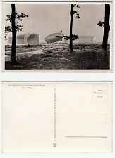 Frankfurt, Rhein-Main Flughafen Zeppelin auf dem Luftschiff Hafen um 1940