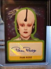 2015 TOPPS STAR WARS JOURNEY FORCE AUTO AUTOGRAPH PAM ROSE LEESUB SIRLN